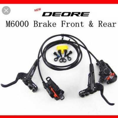 Shimano Deore M6000 hydraulic brakeset with cooling fins