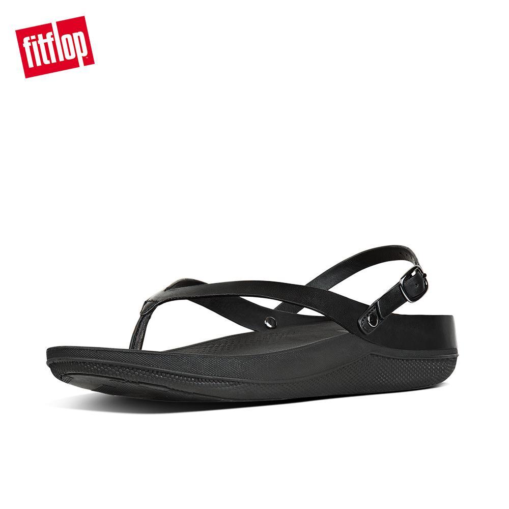 a48b5b0f5d99 Fitflop Women s Sandals E45 Flip Leather Sandal Microwobbleboard™ Midsoles