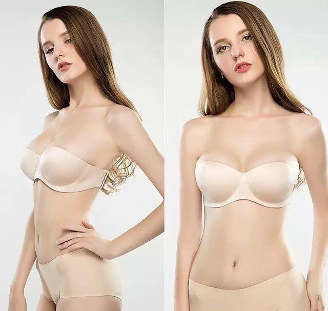 8b43320aac Magic seamless strapless push up bra 2way strap