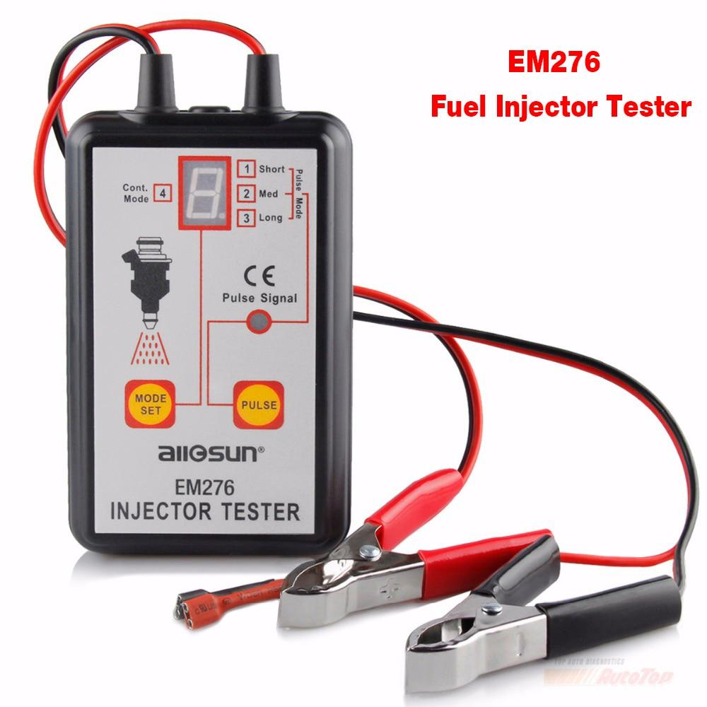2018 Injector Tester Best Fuel Pressure Tester With 4 Pulse Modes All Sun Em276 Pump System Diagnostics Injectors Fuel Analyzer By Powerful-Enterprise.