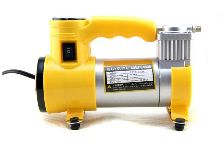 Dc12v Air Compressor Heavy Duty Pump Electric Tire Inflator By Susan1188.