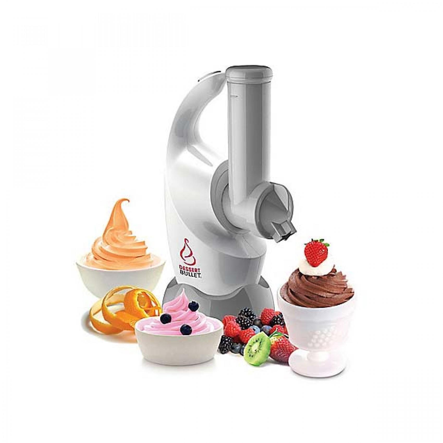 Dessert Maker Icing Maker Mini Blender (white) By Latest Gadget.