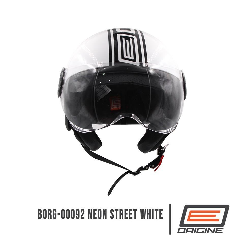 Origine Helmets Philippines Motorcycle For Sale Helm Glossy Racing Spirit White Blue Borg 00092 Neon Street Open Face Helmet