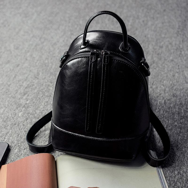 76a80498845c Western Style Package women bag bags Back over the Dual Purpose 2019 Spring Leather  Backpack Versatile