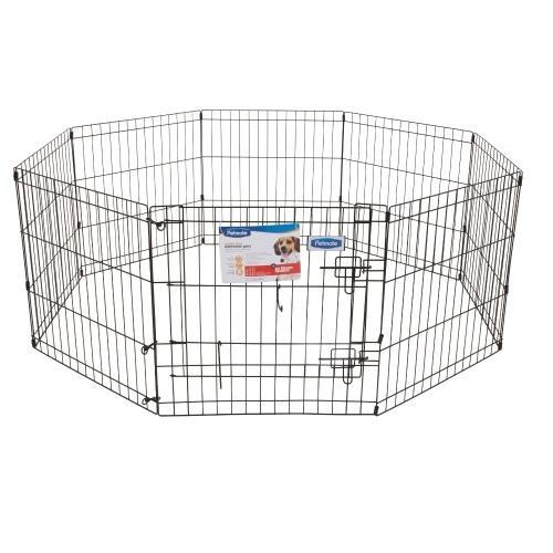 Petmate Exercise Pen W/door 24x24 8-Panels By Basic1.