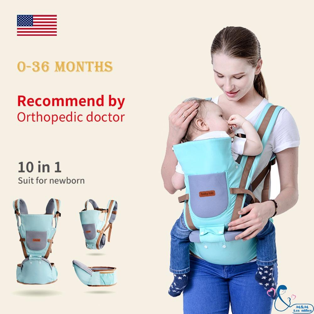 0-36 Months Breathable Multifunctional Ergonomic Baby Carrier Infant Comfortable Sling Backpack Hip Seat Wrap By Xac Trding.