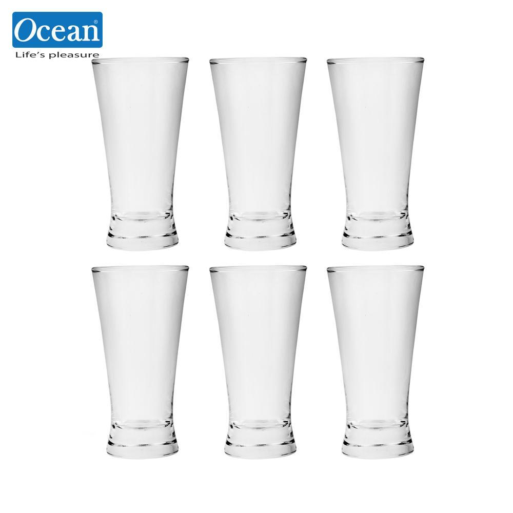 Ocean Glassware Pilsner Tumbler 7oz. Set of 6