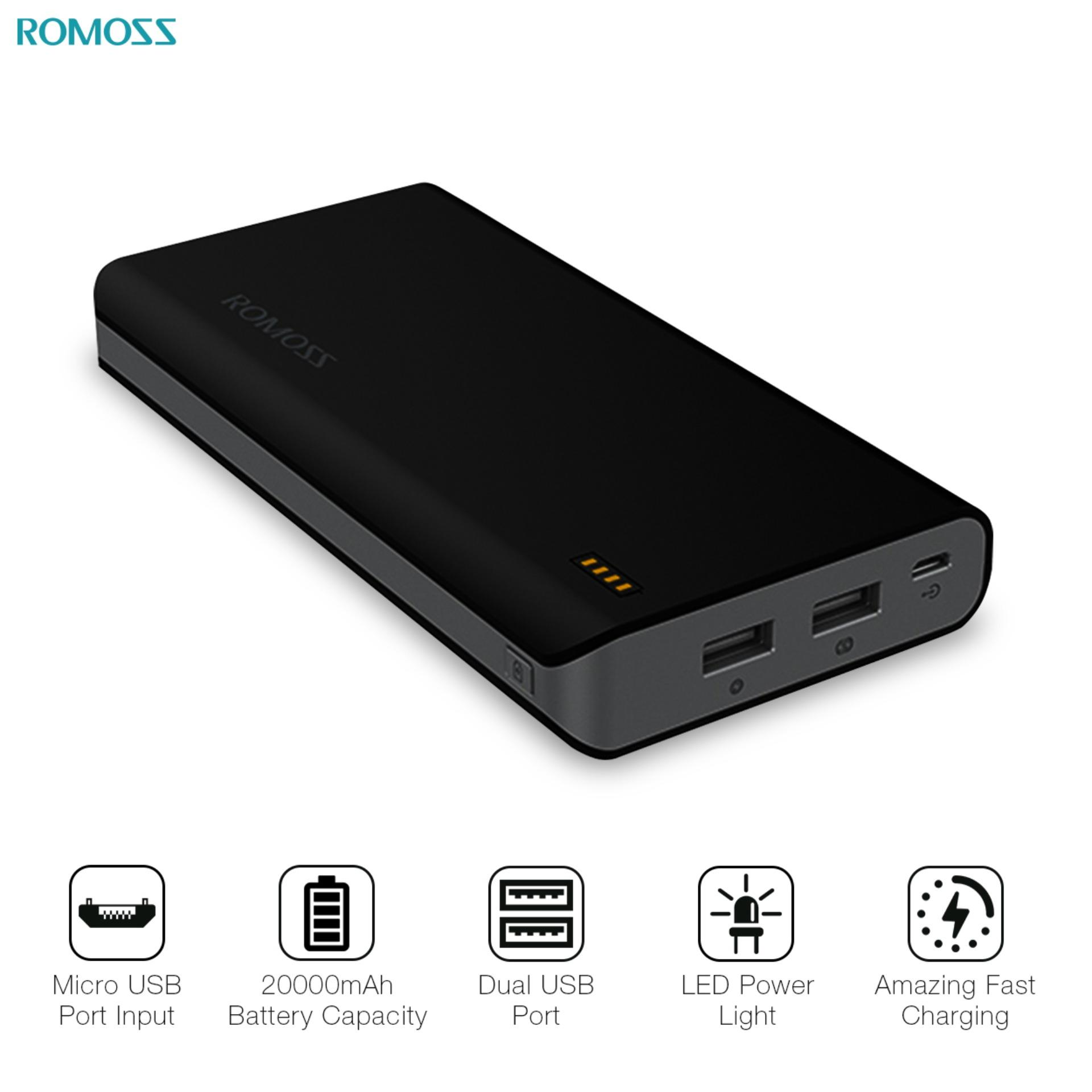 Power Bank For Sale Charger Prices Brands Specs In Official Xiaomi Powerbank 2 10000mah Romoss Solit 20 20000mah Black