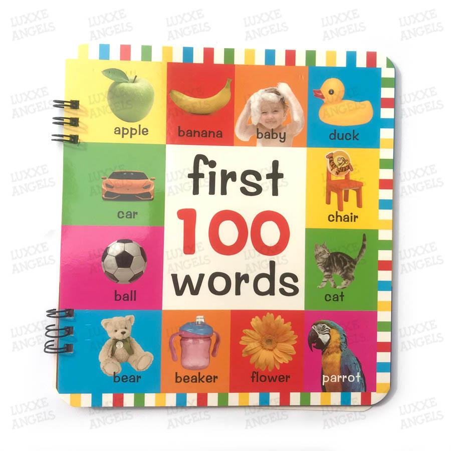 My First 100 Words Childrens Book By Luxxe Angels.