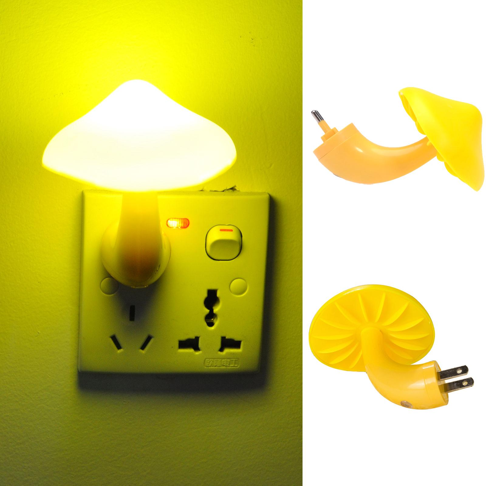 Led Lamps Lights & Lighting Us Plug Led Night Light Light Sensor Control Nightlight Bedroom Wall Lamp For Baby Kids Girls Bedside Sleep Lamps 220v Eu