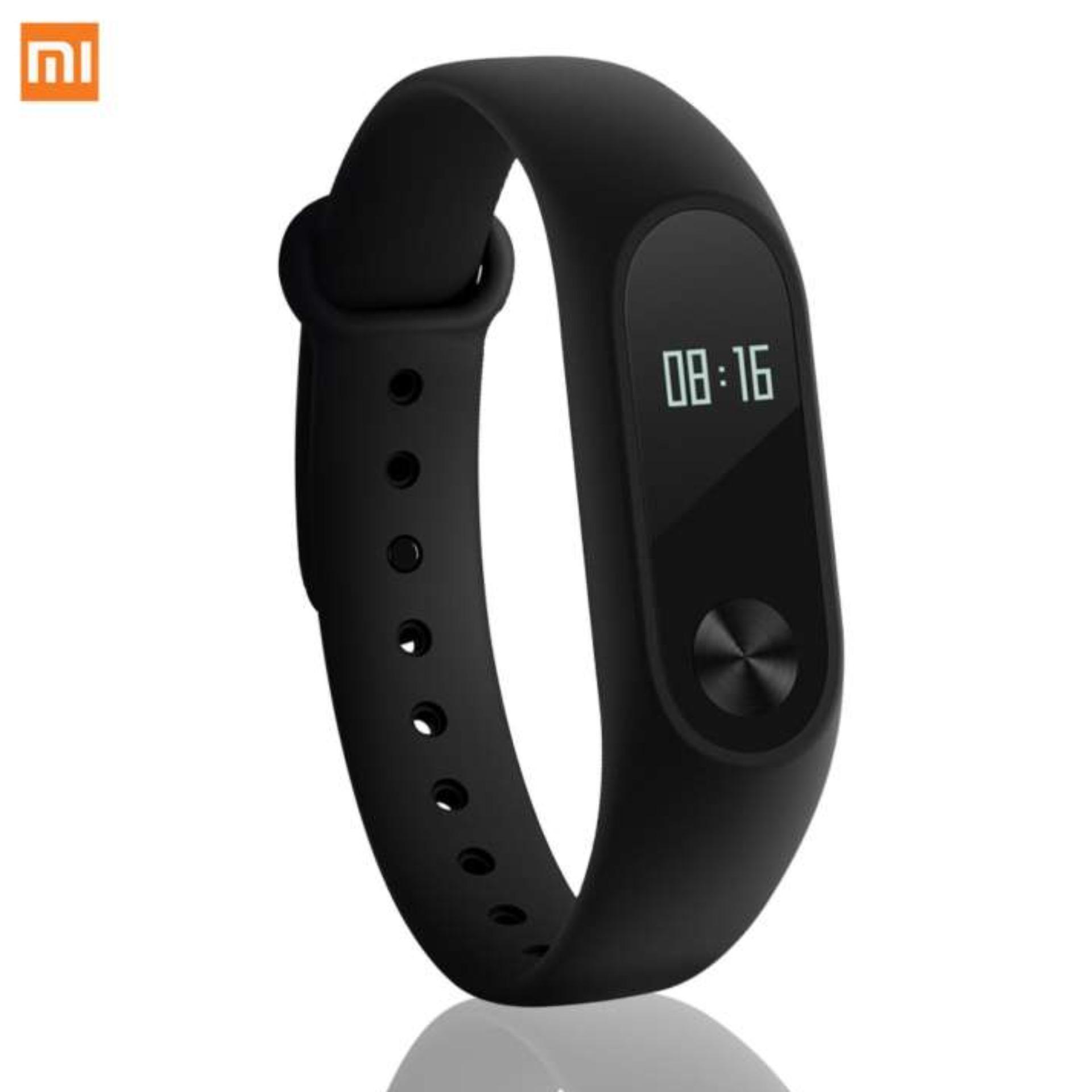 Xiaomi Mi Band 2 Smart Heart Rate Monitor Fitness Tracker (Black)
