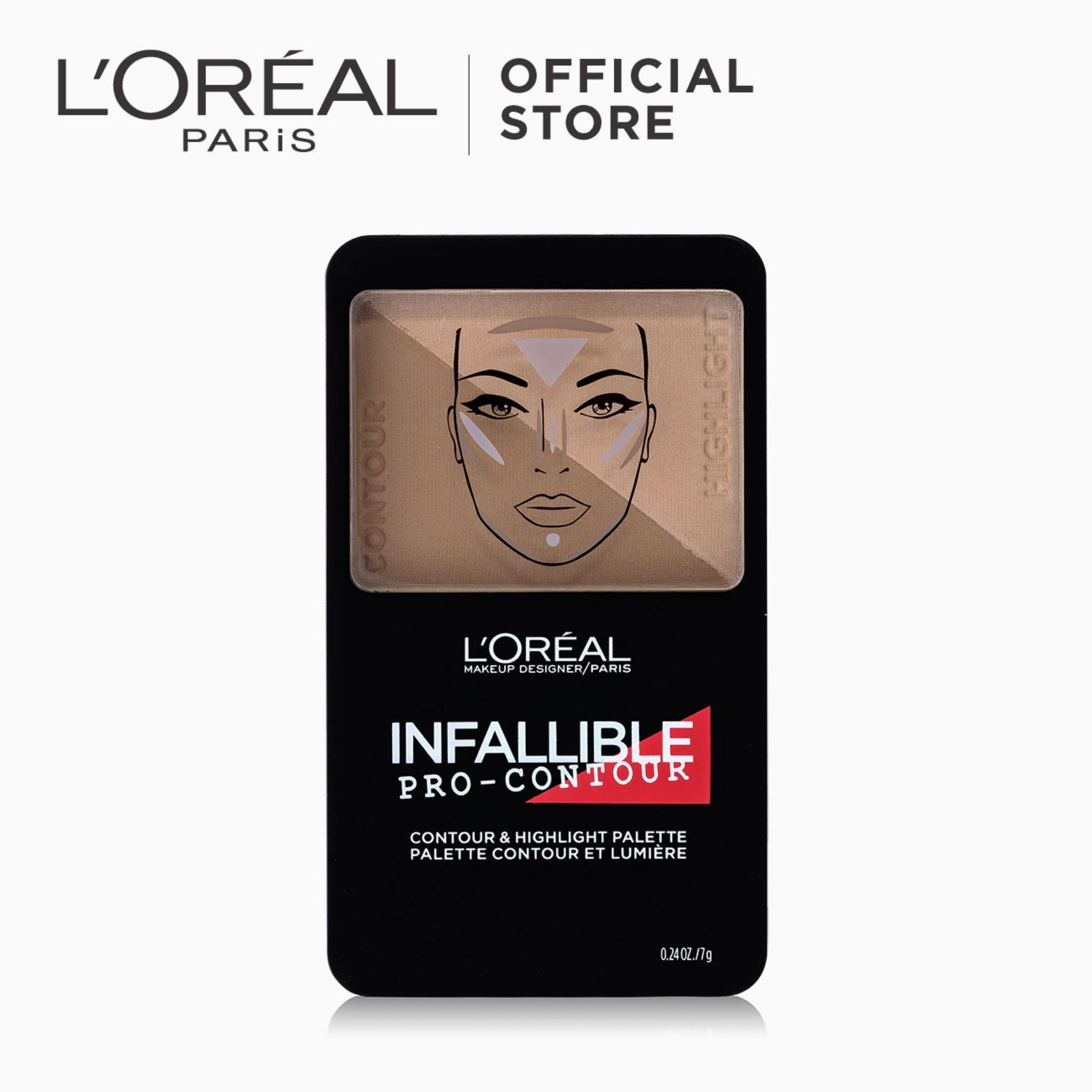 Infallible Pro-Contour & Highlight Palette - Medium [#NeverFail] by LOréal Paris Philippines