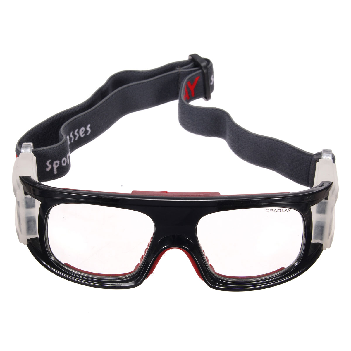 7aaf4aa36595 Product details of Autoleader Basketball Soccer Football Sports Protective  Eyewear Goggles UV Eye Glasses Gift (Red Black)