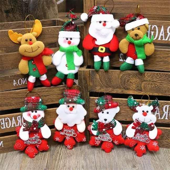 6pcs assted design new christmas decoration supplies for home christmas tree ornaments