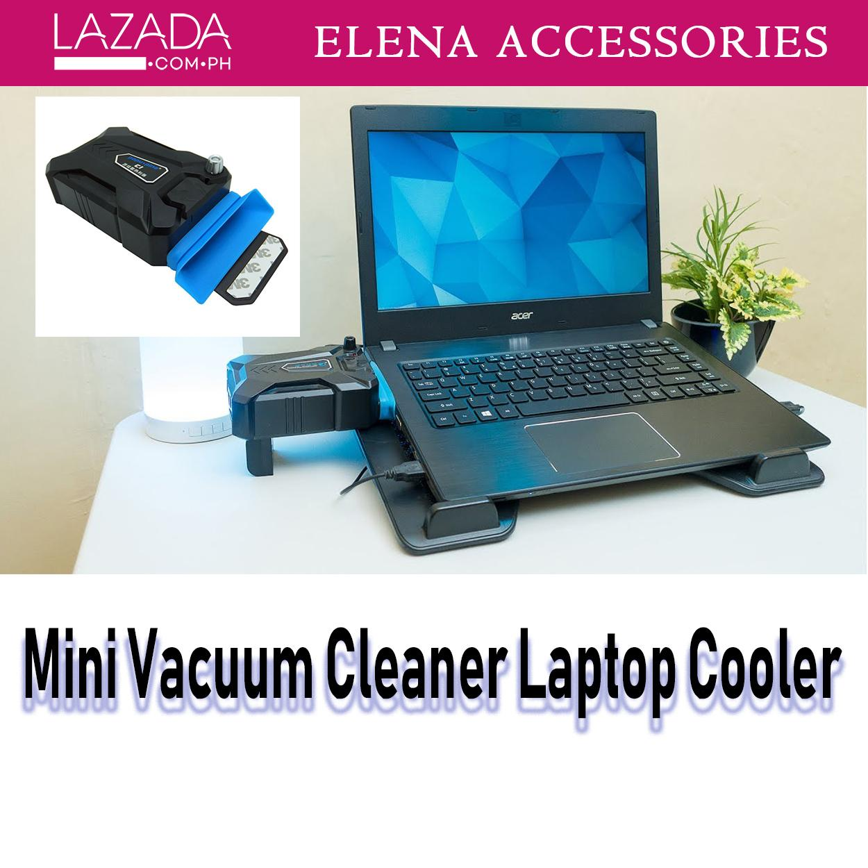 Computer Cooling Stands For Sale Pc Pad Prices Brands Notebook 14 15 Portable Laptop Usb Fan Air Cooler Speed Adjustable Vacuumblack