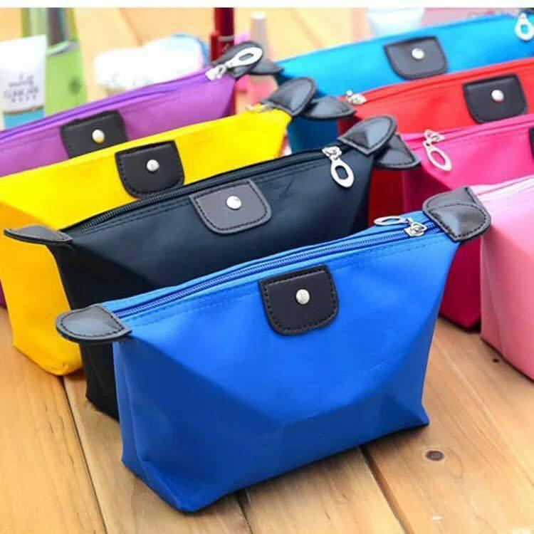 Korean Waterproof Cosmetic Bag Travel Mini Pouch (random color) Philippines