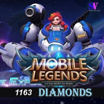 Mobile Legends Diamonds 1163