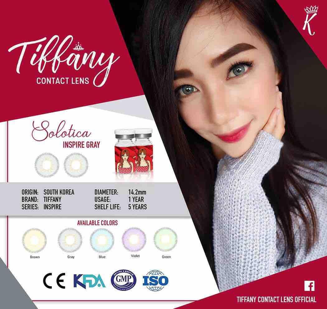 Tiffany Contact Lens SOLOTOCA INSPIRE GRAY Philippines