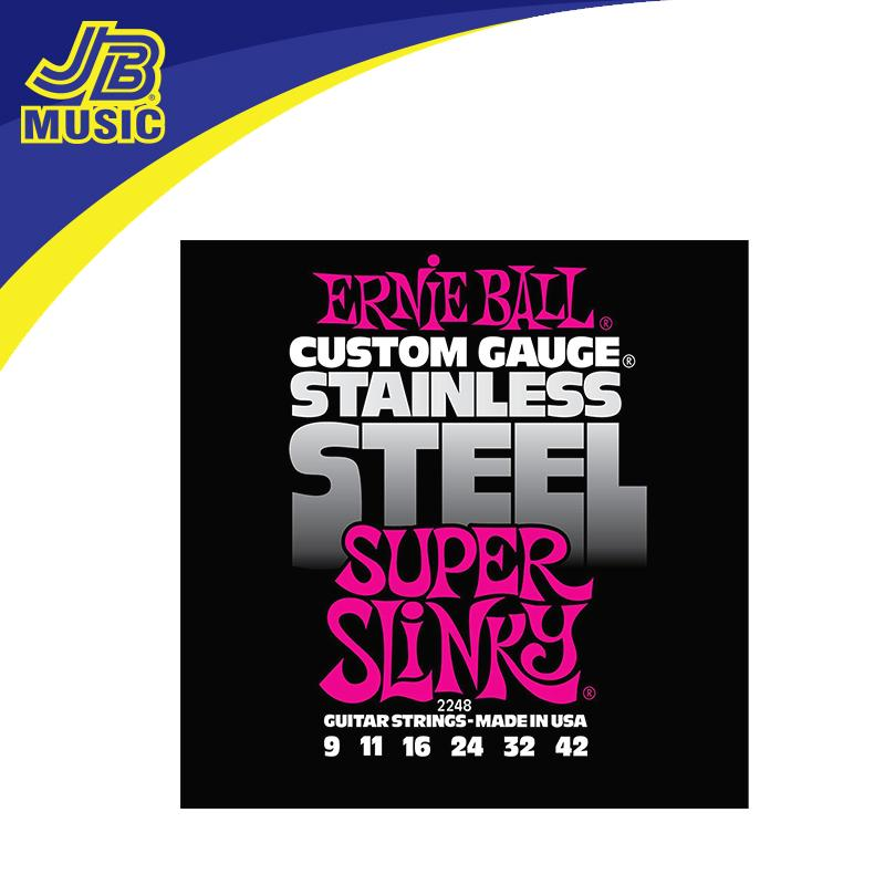 Ernie Ball 2248 Super Slinky Electric Guitar Strings By Jb Music Shop.
