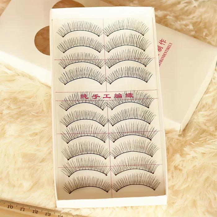 Eye Voluminous Fake Women's Lashes Eyelashes Makeup 10 Pairs Philippines