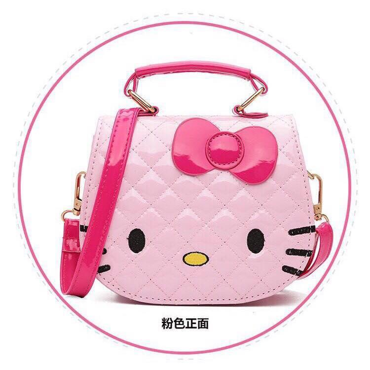 XUEBAMI Shiny Leather Kitty Shoulder Bag Sling Bag Fashion Bag