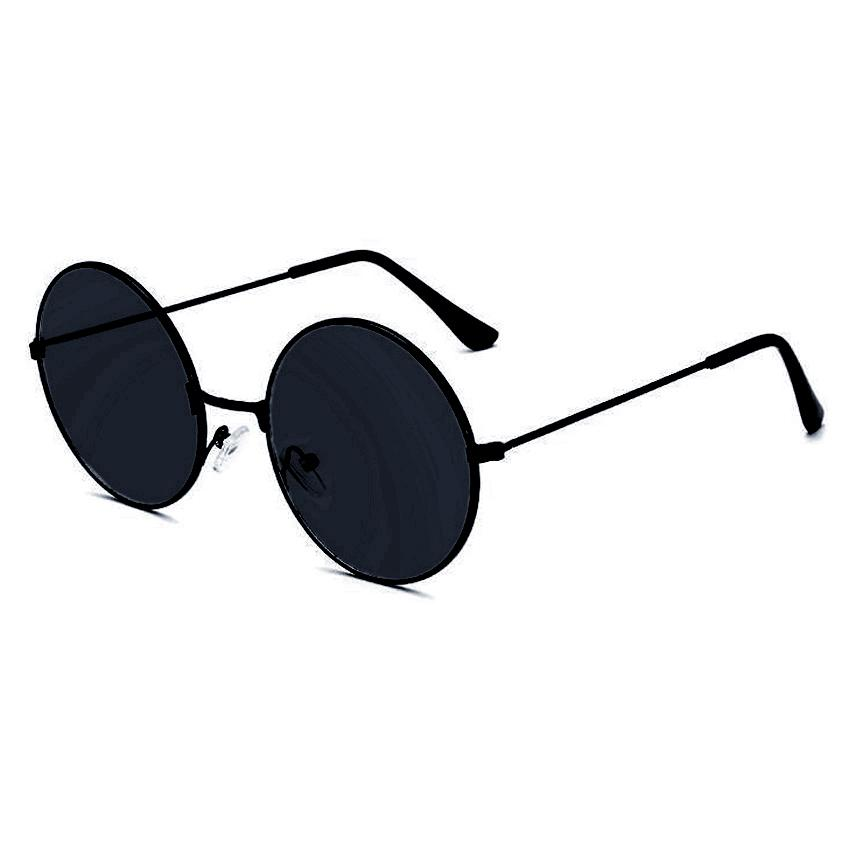 c002d2c4c ANT Retro Round Style Harry Potter Colored Vintage Glasses Tint Sunglasses  Sunnies Shades Metal Frame Black