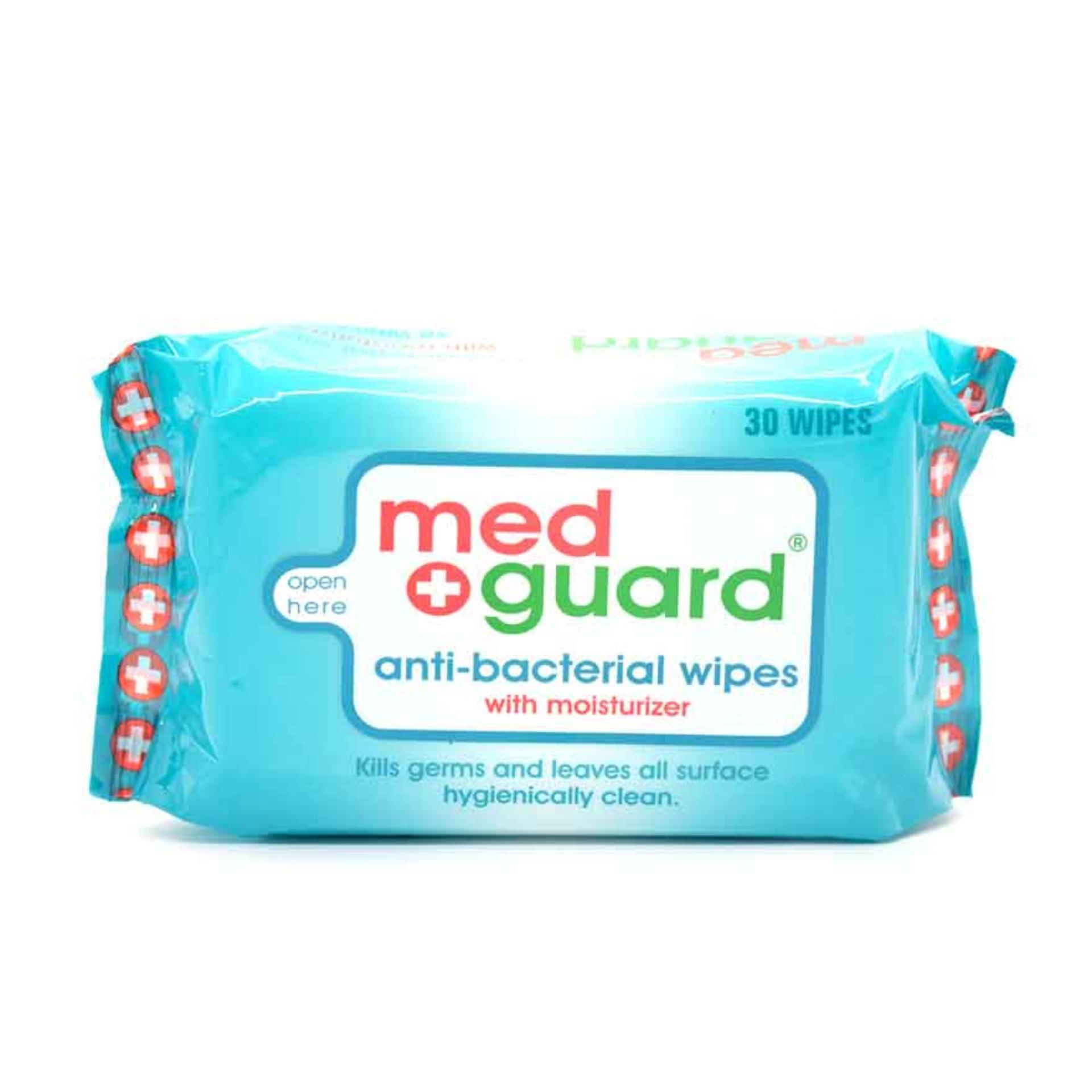 Med Guard Anti Bacterial Wipes 30 Wipes By Watsons Personal Care Stores.