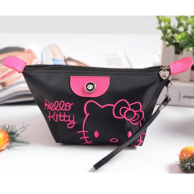 Phoebes Fashion Water Resistant Multi Purpose Travel Make Up Coin Purse Cosmetic Storage Organizer Pouch Wristlet