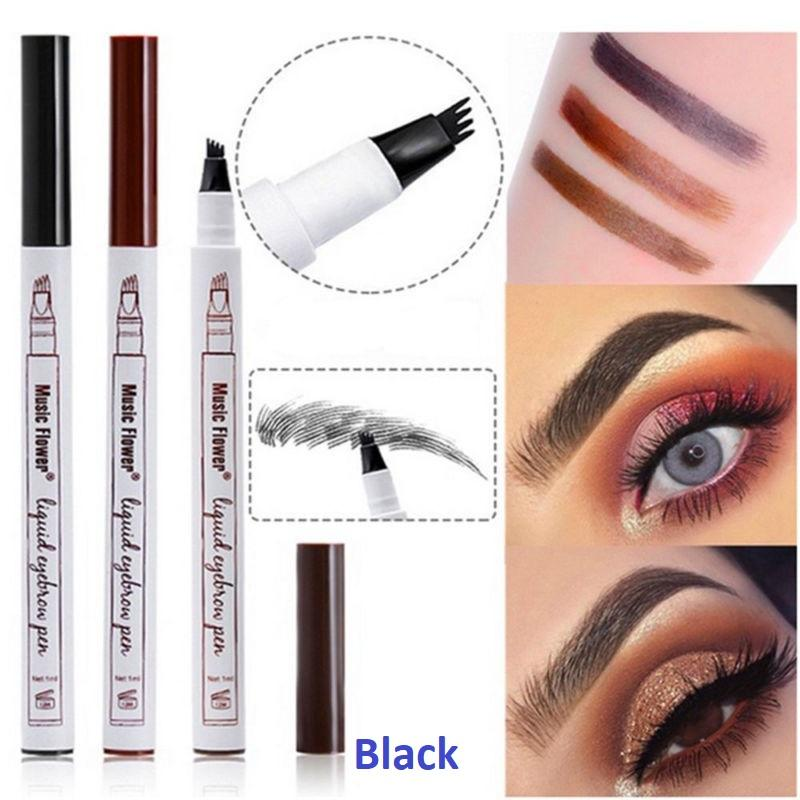 Music Flower Brand Makeup Fine Sketch Liquid Eyebrow Pen Waterproof Eyebrow Tattoo Philippines