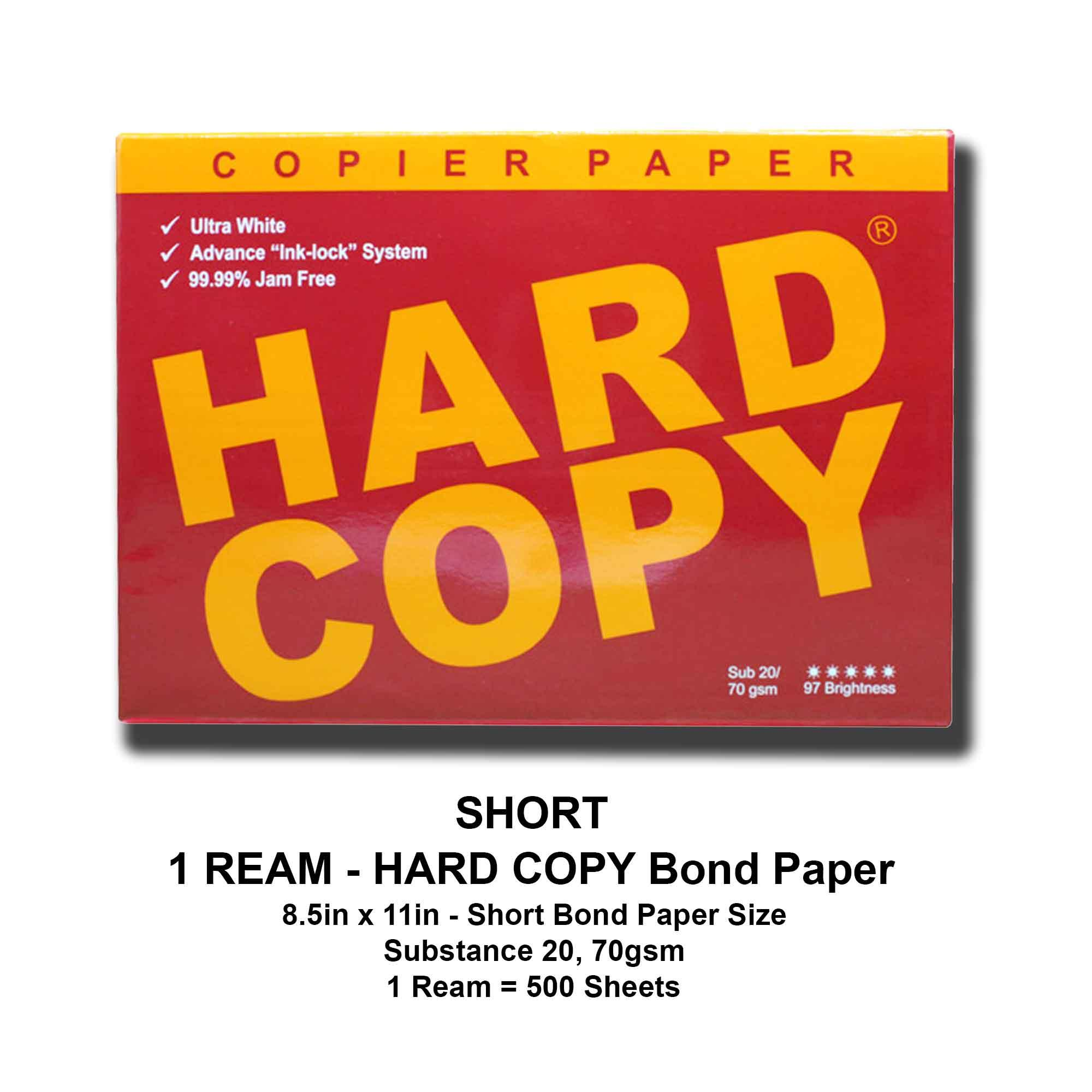 Paper products for sale paper items prices brands review in hard copy bond paper 1 ream short bond paper size 85x11 inches malvernweather Images