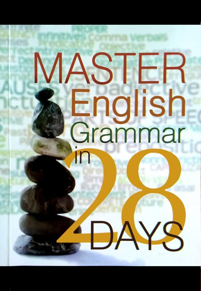 Best Seller Book Master English Grammar In 28 Days By Masterenglishcourse.