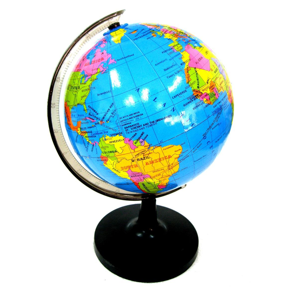 Geography puzzle toys for sale geography toys online brands 1416cm world map globe rotating map publicscrutiny Images