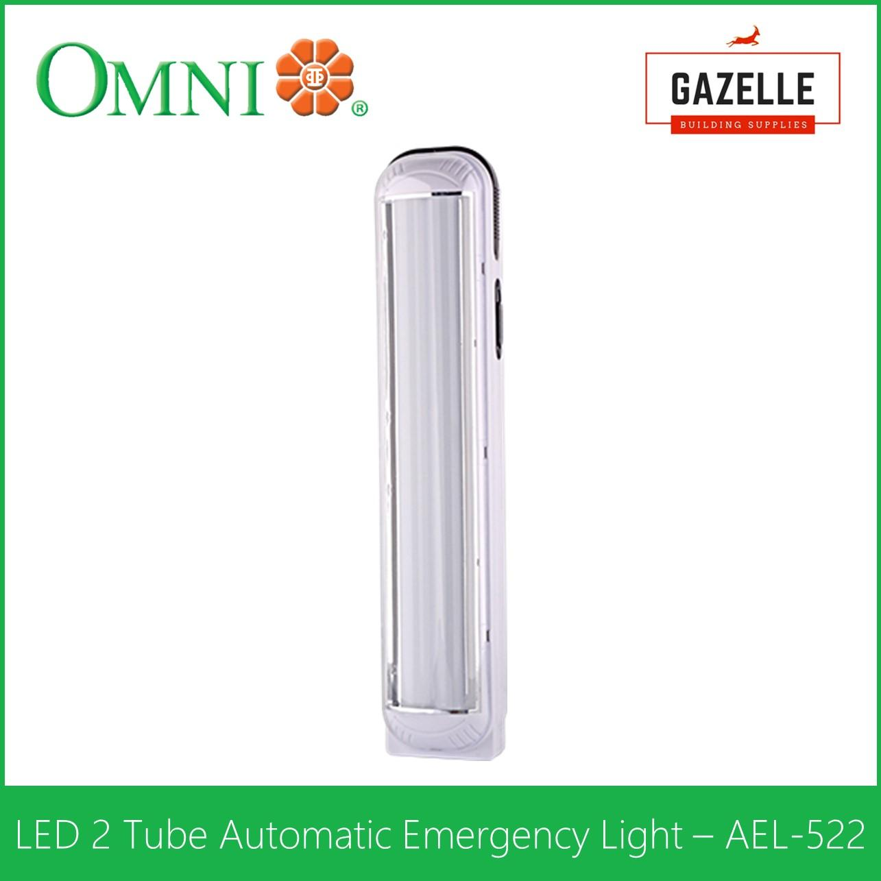 Buy Sell Cheapest Omni Automatic Emergency Best Quality Product Led Light Ael 522 2 Tube