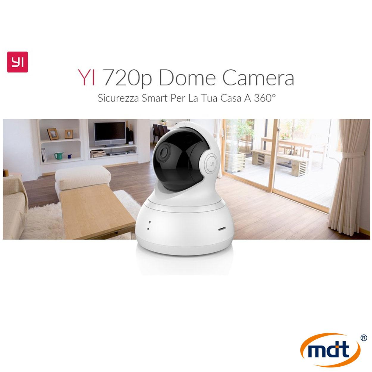 Buy Sell Cheapest Xiaomi Yi Ip Best Quality Product Deals Original Dome 720p Camera International Version White Cctv Monitor Pan Tilt Zoom Wireless Security Surveillance System Hd