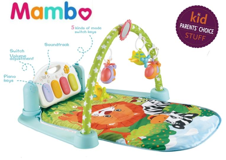 Babaimama Baby Piano Playmat Activity Playmat Baby Toys And Stand Alone Crib Sound By Mambo Baby.