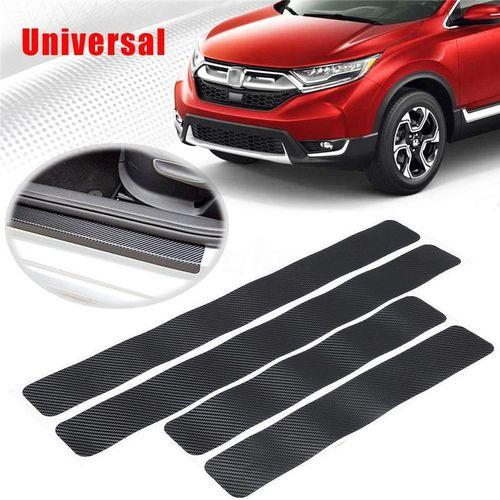 dfb317c7b82fb5 3D Protective Film Car Door Sill Welcome Pedal Decals Stickers Anti  Scratch(BLACK)