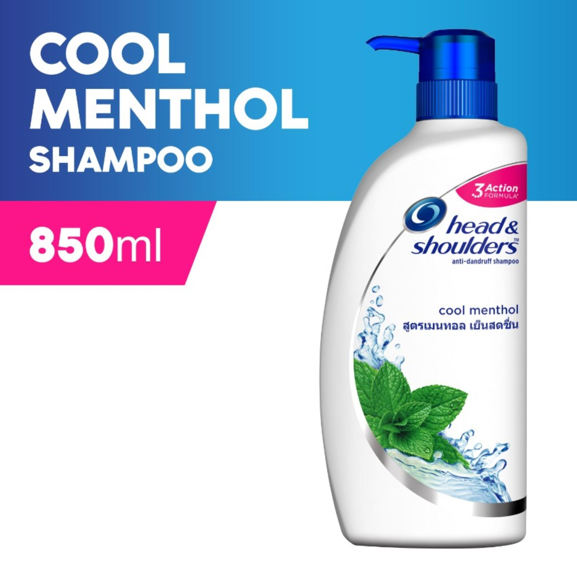 Head & Shoulders Cool Menthol Shampoo 850ml By Lazada Retail Head & Shoulders.