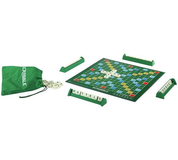 Scrabble Brand Crossword Game Original (mini) By Gc Accessories.