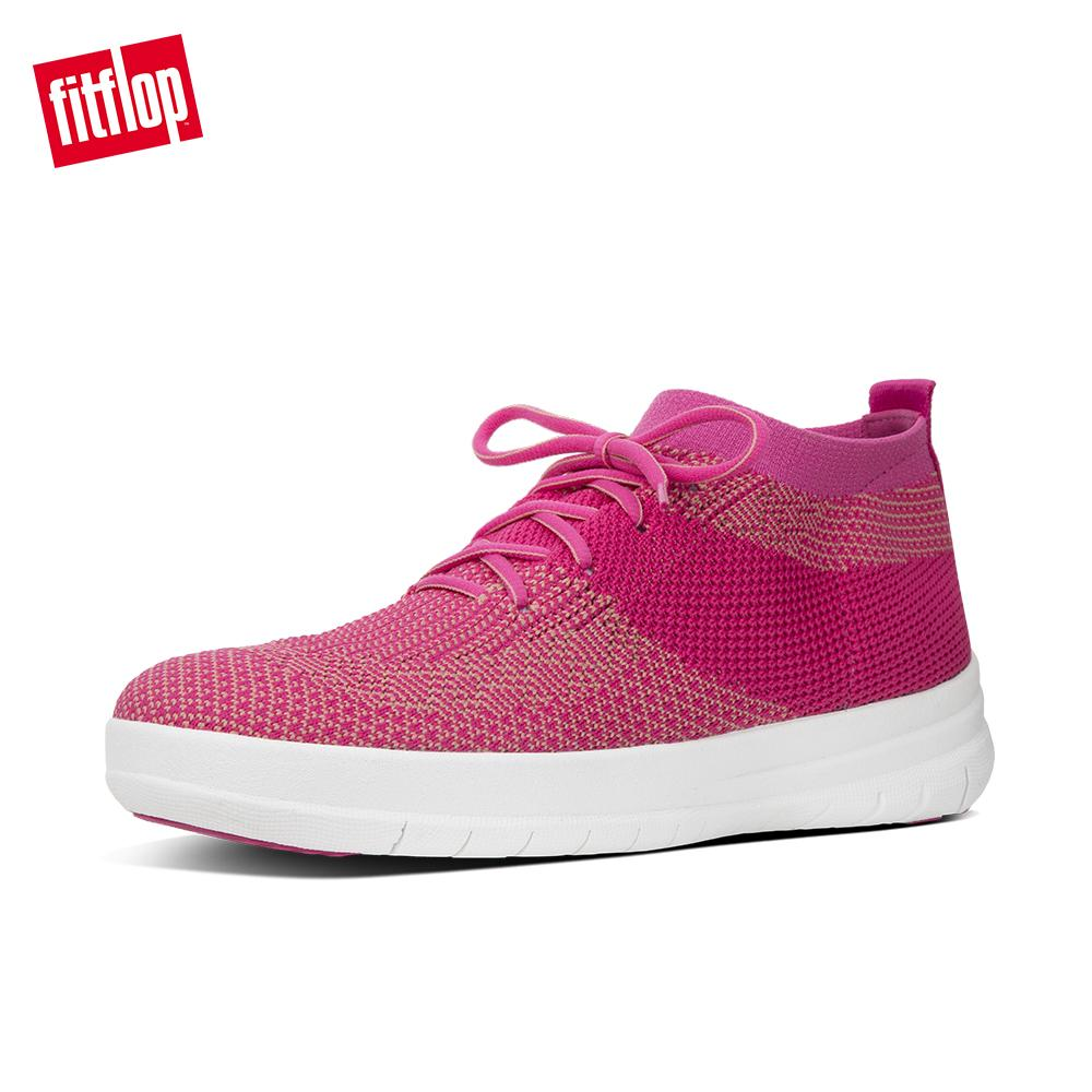 862ea4f497d8aa Fitflop Women s Shoes E91 Uberknit Slip-On High Top Sneaker