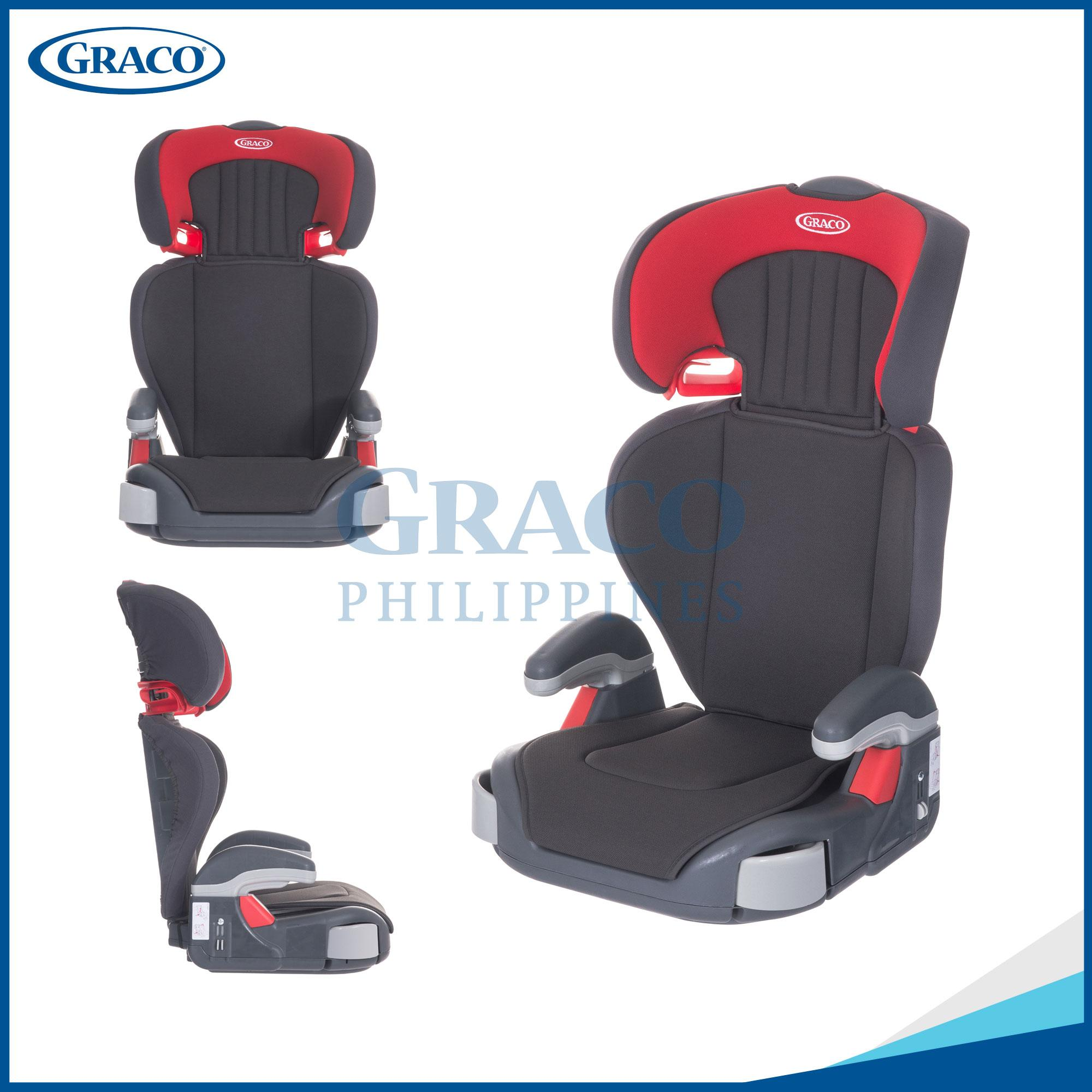 Graco Car Seat Junior Maxi Pompeian Red