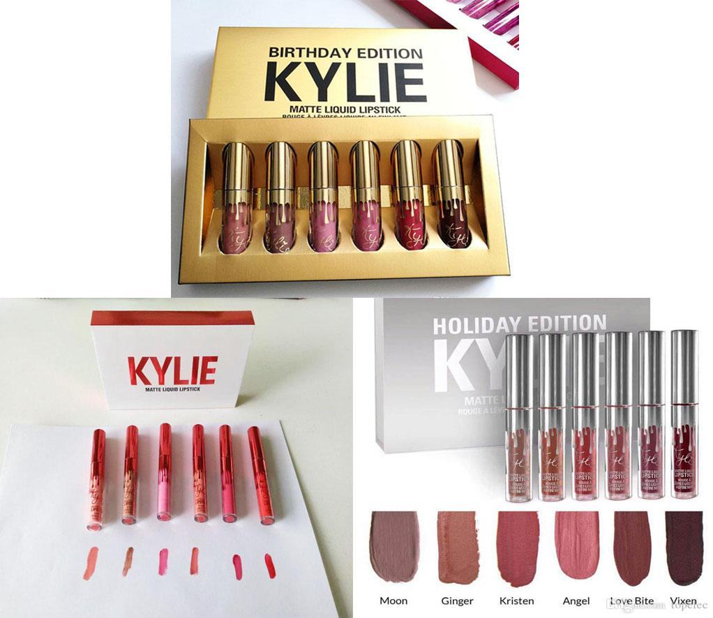 Adventurers 3 Sets KYLIE MATTE LIQUID LIPSTICKS EDITION 6 SHADES Philippines