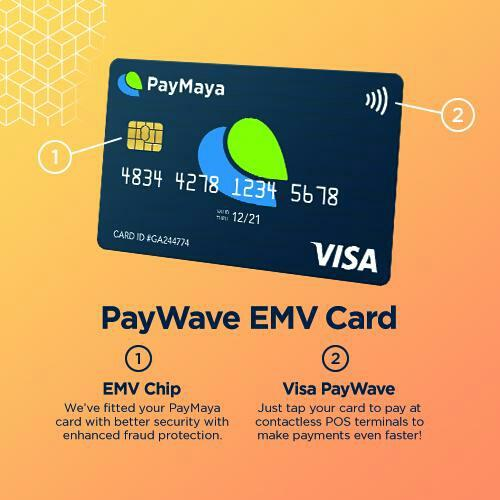 PayMaya EMV Paywave Philippines - PayMaya EMV Paywave Travel Wallets