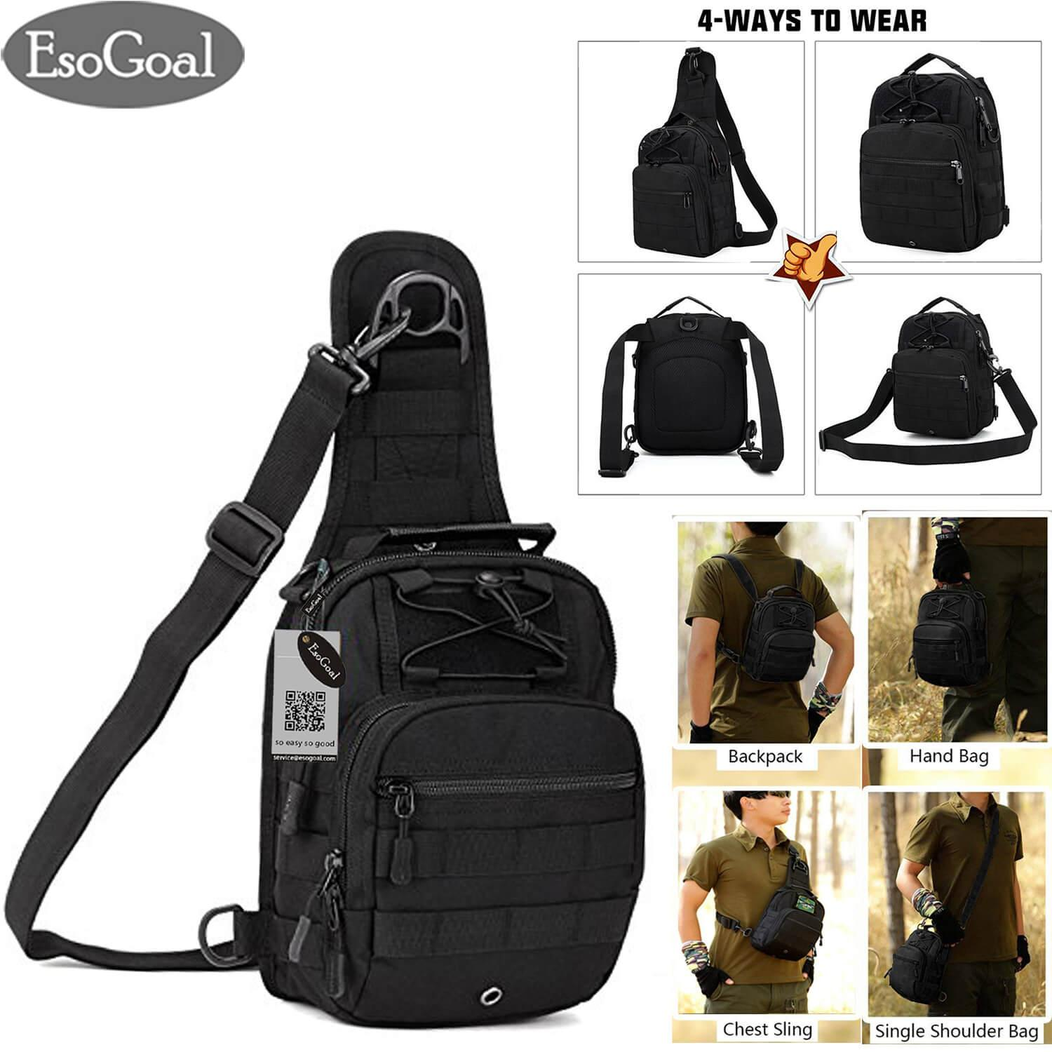 Tactical Utility Gear Sling Bag Backpack - CEAGESP