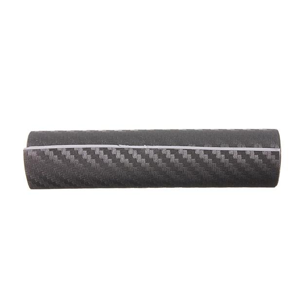 3D Carbon Fiber Vinyl Wrap Film Car Vehicle Sticker Sheet Roll 10x20cm  Black 4