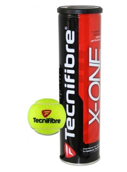 Tonys Tecnifibre X One 3 Tennis Balls Per Tube By Tonys Shop