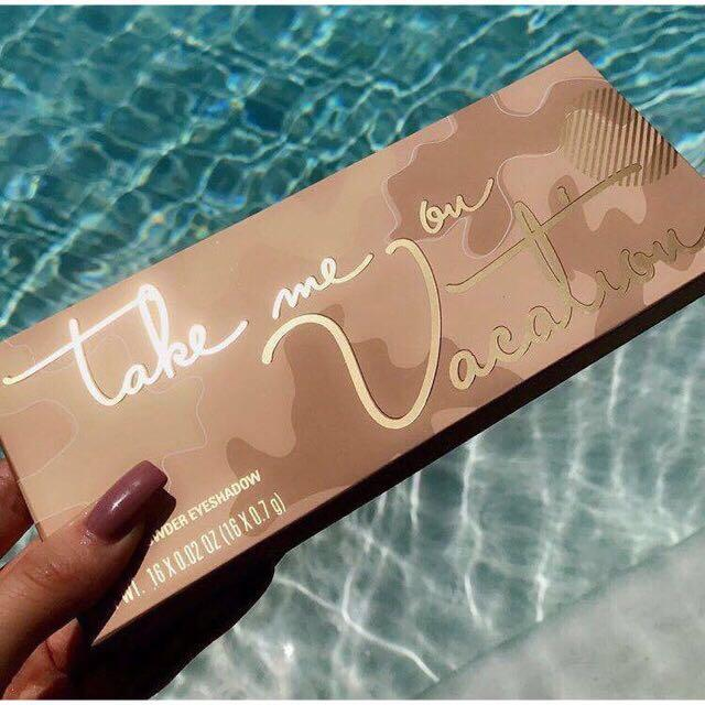 Kylie Eyeshadow Palette (take me on vacation) Philippines