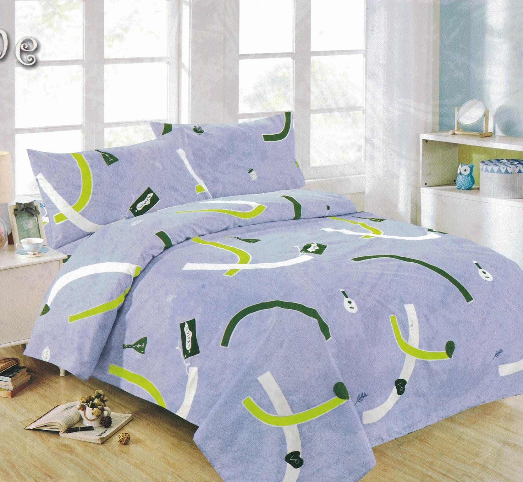 Superb Bedtime Bedsheet Single Size 3 Piece Set