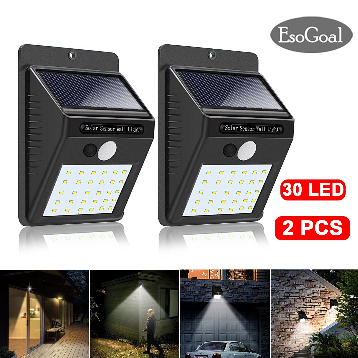 Lamps for solar panels for home and garden