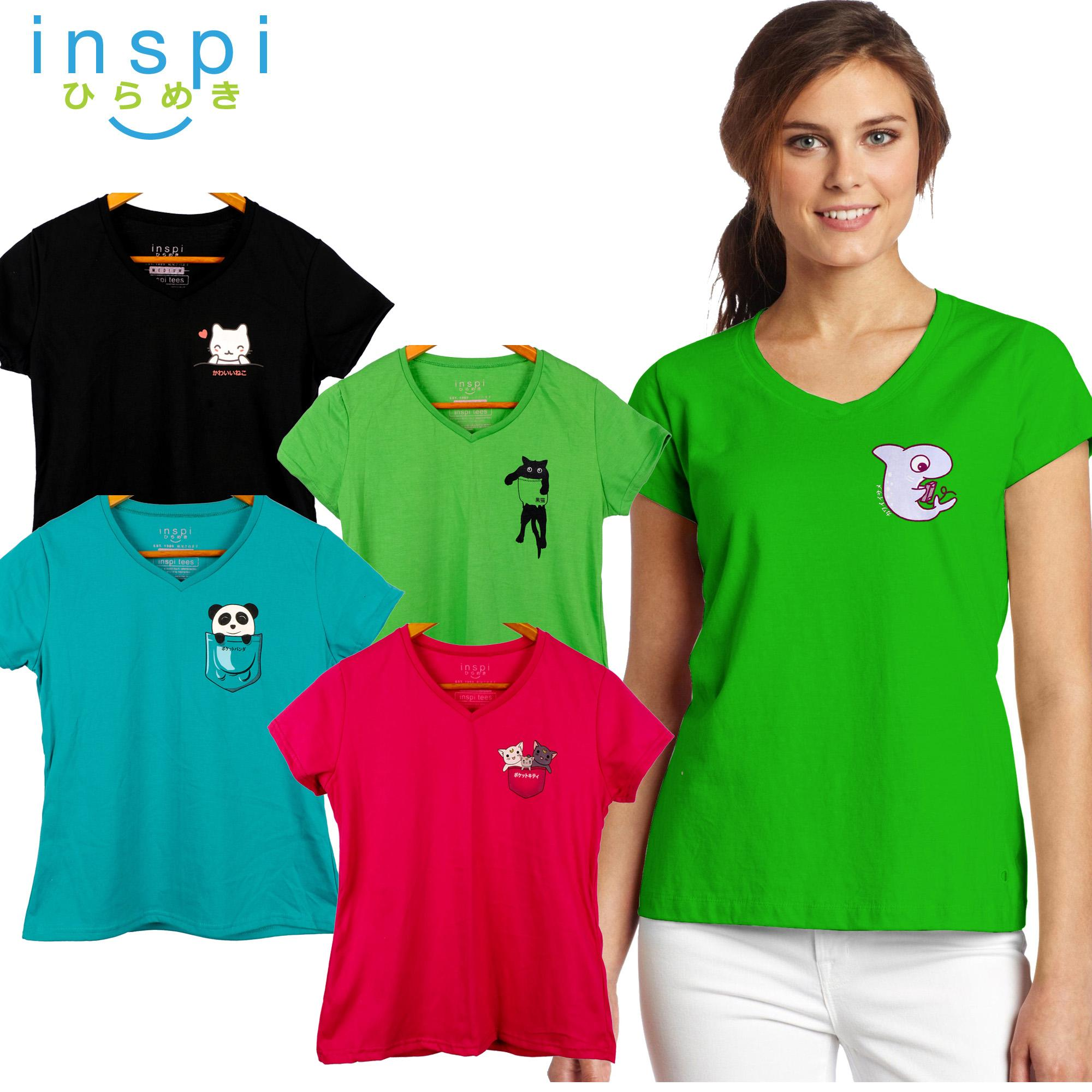 INSPI Tees Ladies Semi Fit Pocket Friends Collection tshirt printed graphic tee  t shirt shirts tshirts 8e236ef3871a