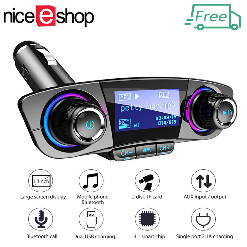 Car Stereo For Sale Cars Online Brands Prices Toyota Corolla Radio Wiring Harness Adapter Free Shippingniceeshop Bluetooth Kit Handsfree Fm Transmitter Wireless A2dp Aux Audio